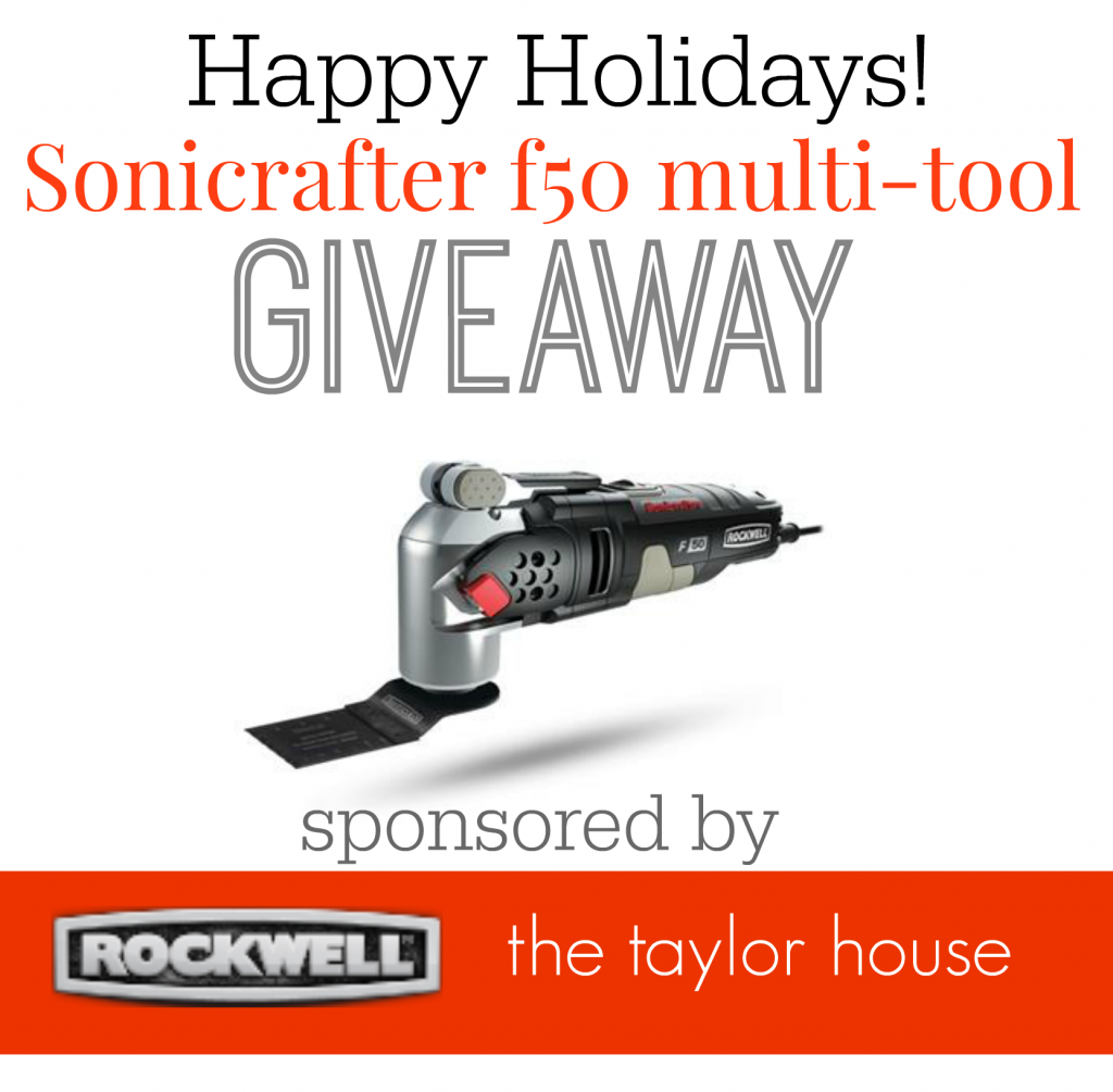 The Best Power Tool Gift Ideas for Men this Holiday and a giveaway where you can win a Sonicrafter!