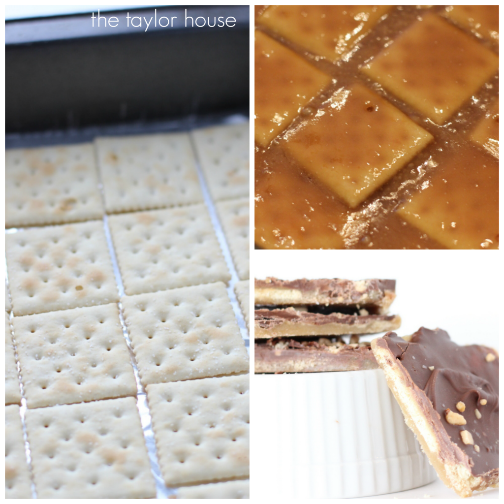 Deliciously Sweet and Salty Soda Cracker Candy Bars!