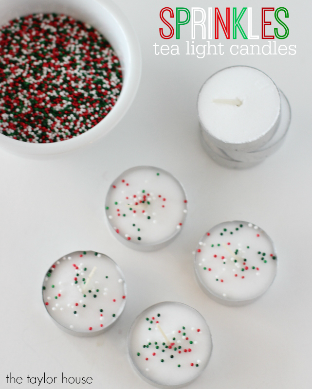 Easy to make DIY Candle Crafts for Christmas