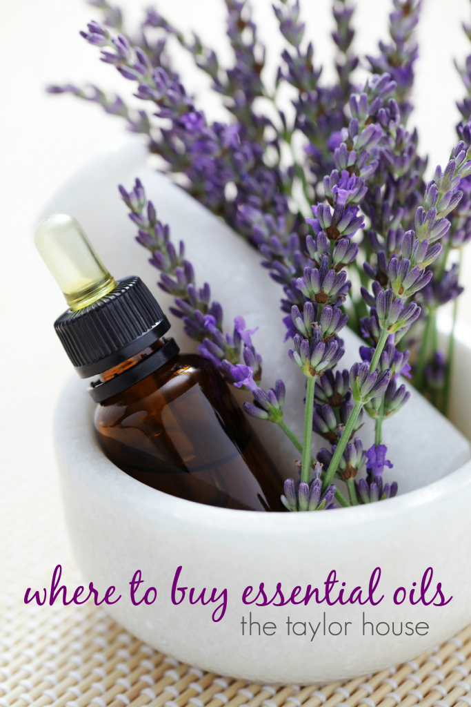 Where to buy essential oils!