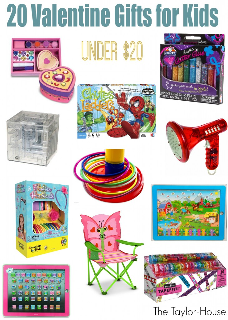 20 Valentine Gift Ideas for Kids under $20!