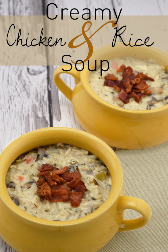 Creamy Chicken and Wild Rice Soup that's easy to make!