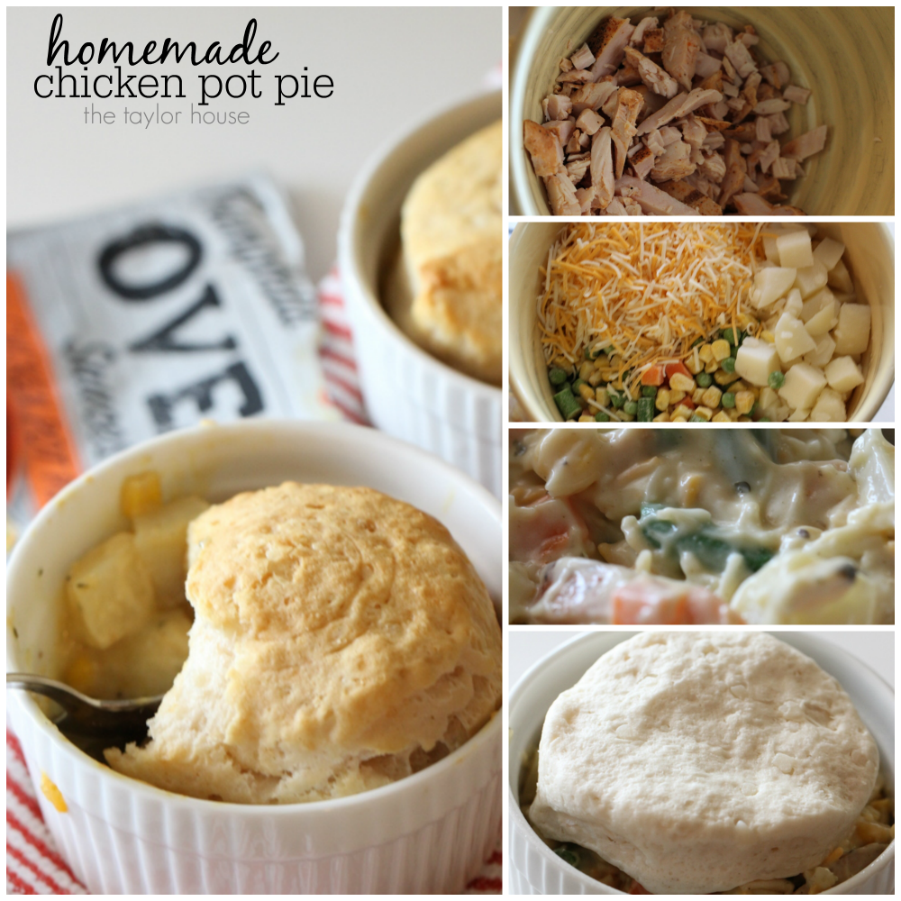Easy to make Chicken Pot Pie Recipe using Campbell's Oven Sauces!