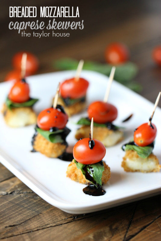 Two Delicious Super Bowl Appetizer Ideas: Twice Baked Potatoes and Caprese Skewers!