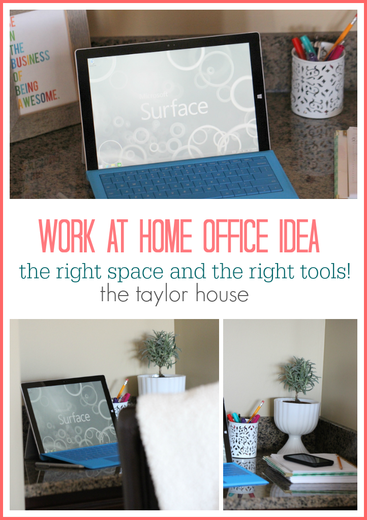 How to create an efficient work from Home Office.
