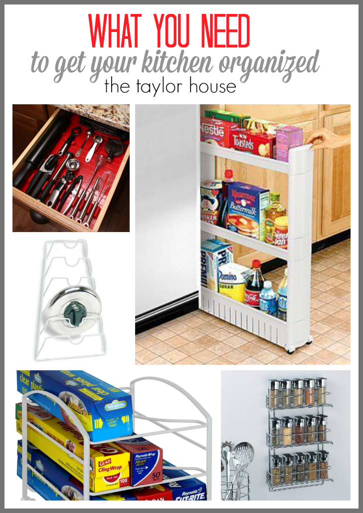Best products to organize your kitchen the taylor house Best way to organize kitchen cabinets and drawers