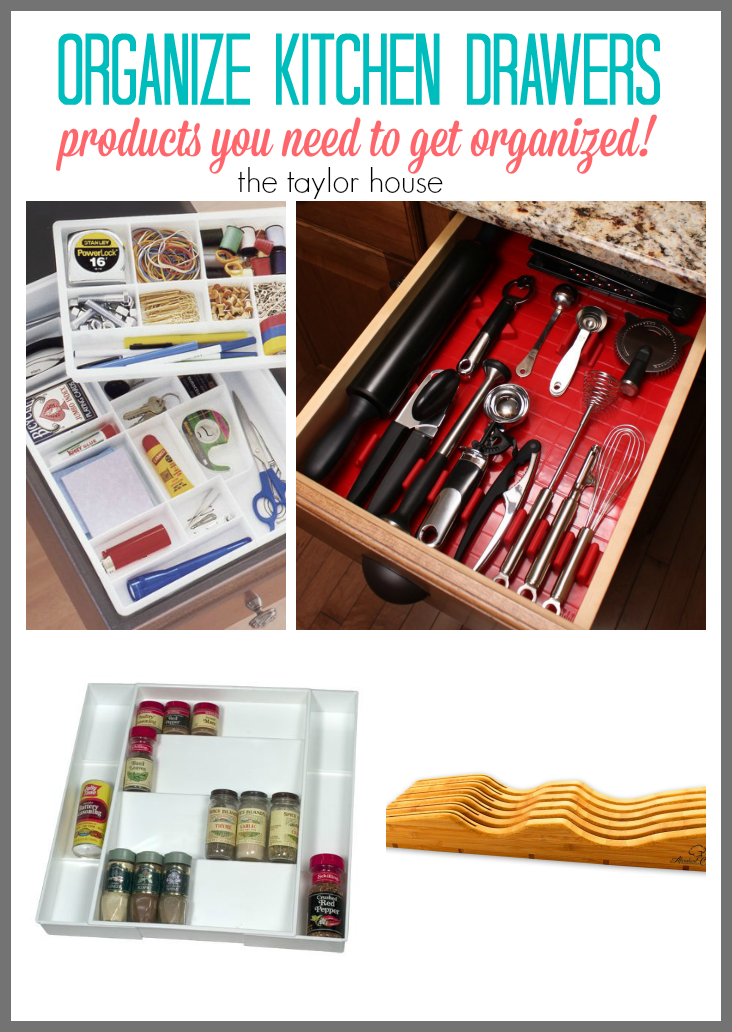 The Best Products to Organize Your Kitchen Drawers