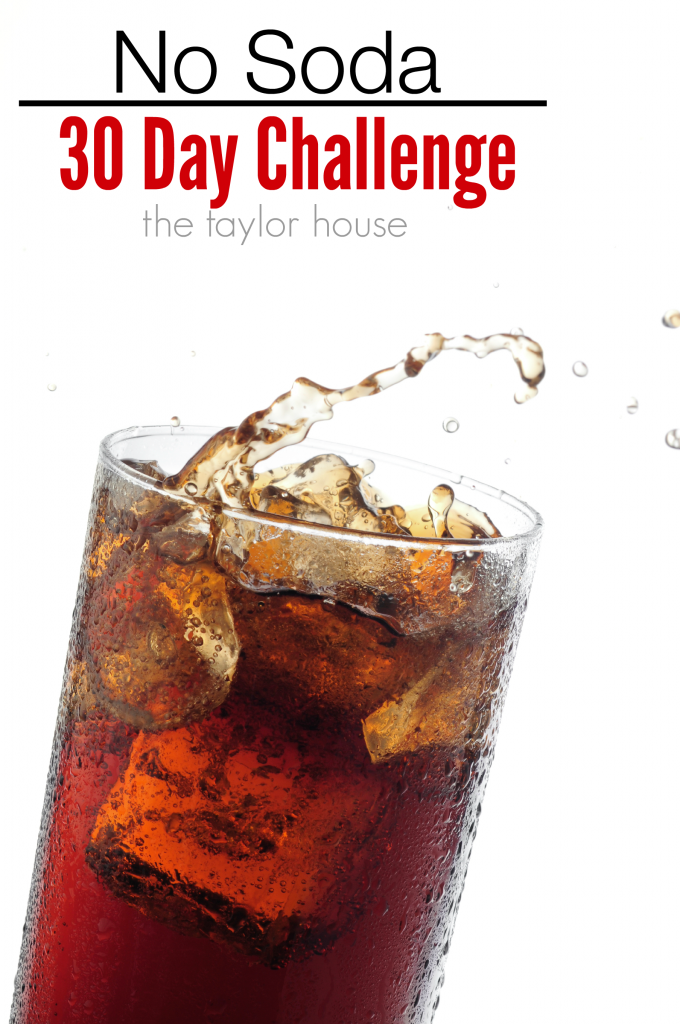 30 Day No Soda Challenge for the New Year!
