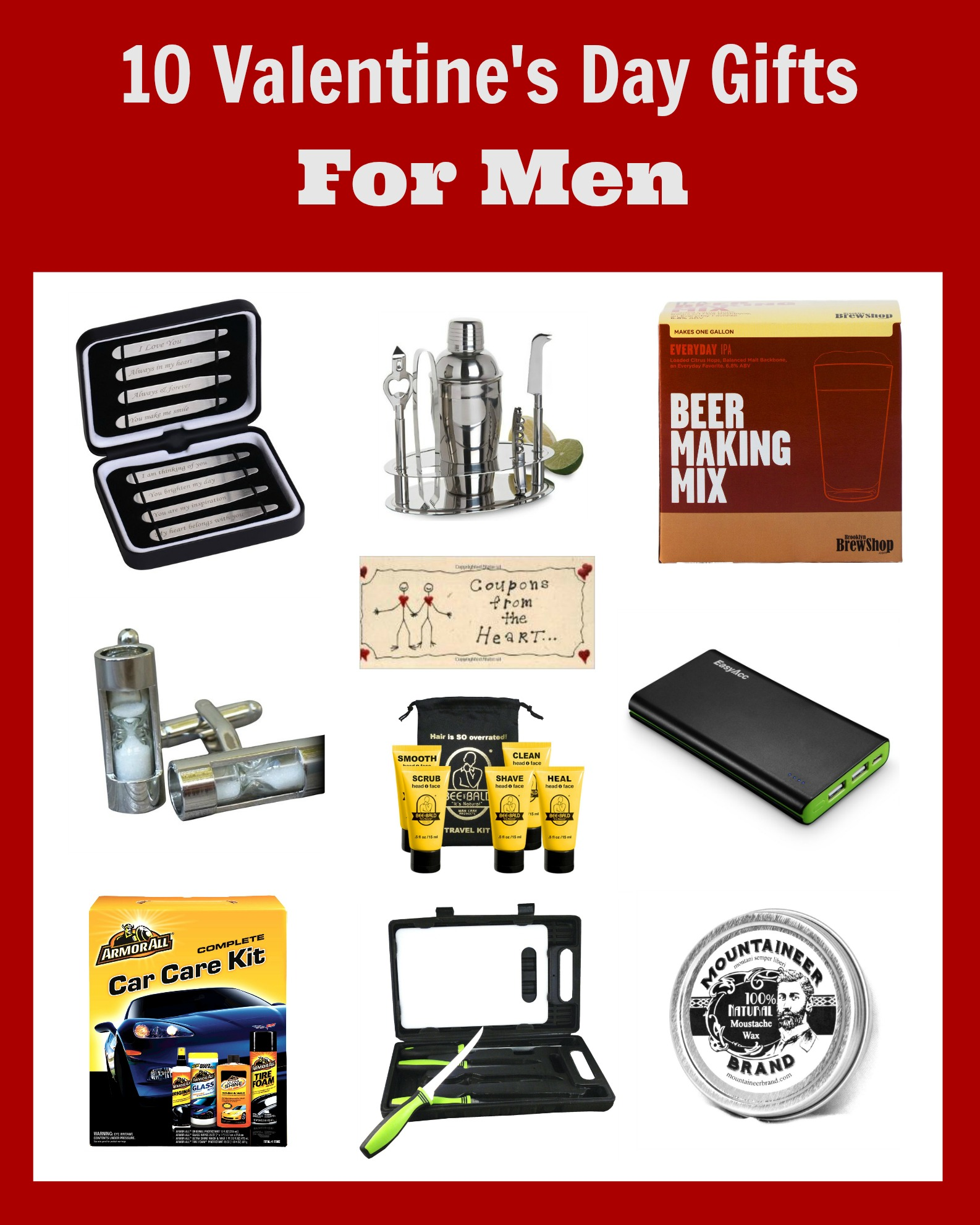 Valentine Gifts for Men | The Taylor House