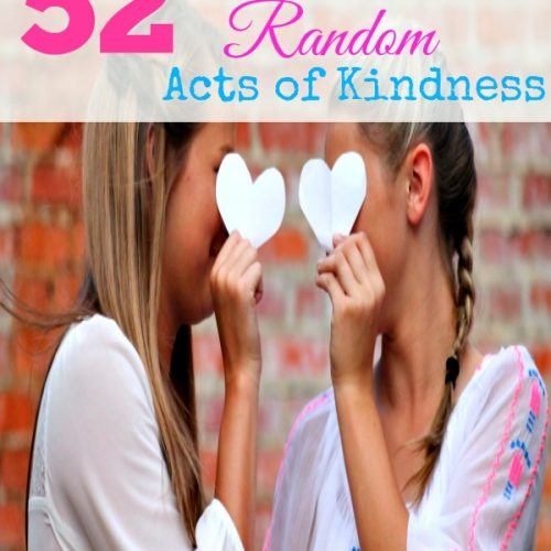 52 Ways to Practice Random Acts of Kindness