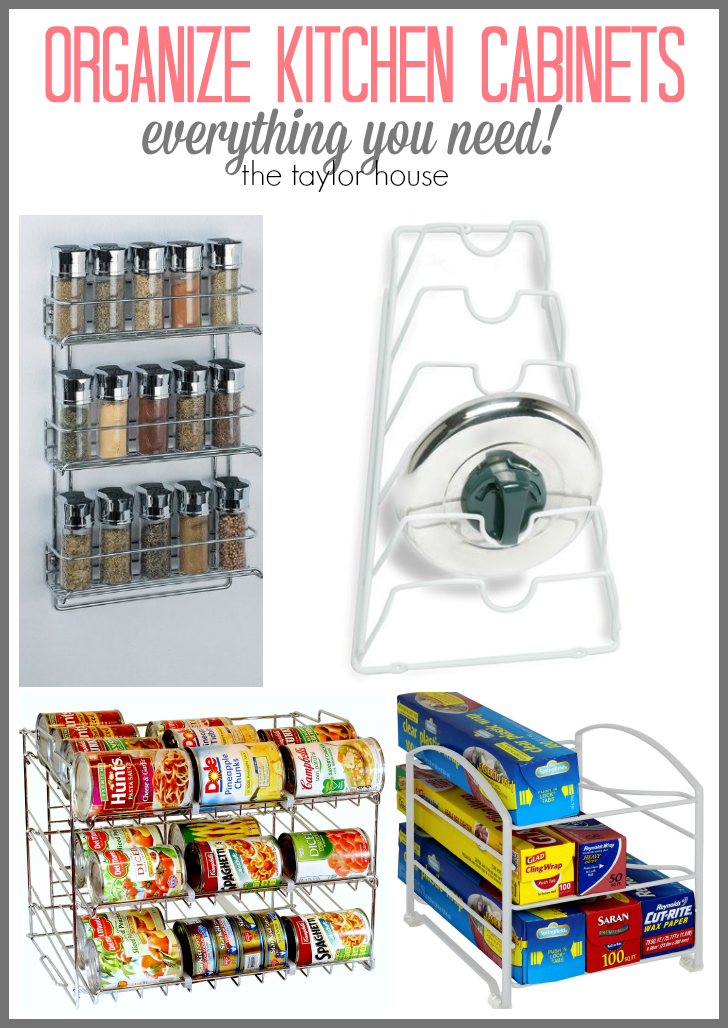 The Best Products To Organize Your Kitchen Cabinets