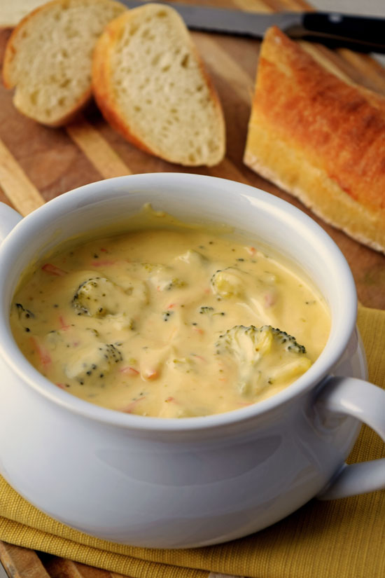 Vegetable Broccoli and Cheese Soup - The Taylor House