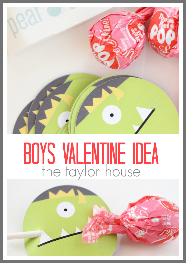 Personalized Boys Valentine Idea from Pear Tree Greetings!