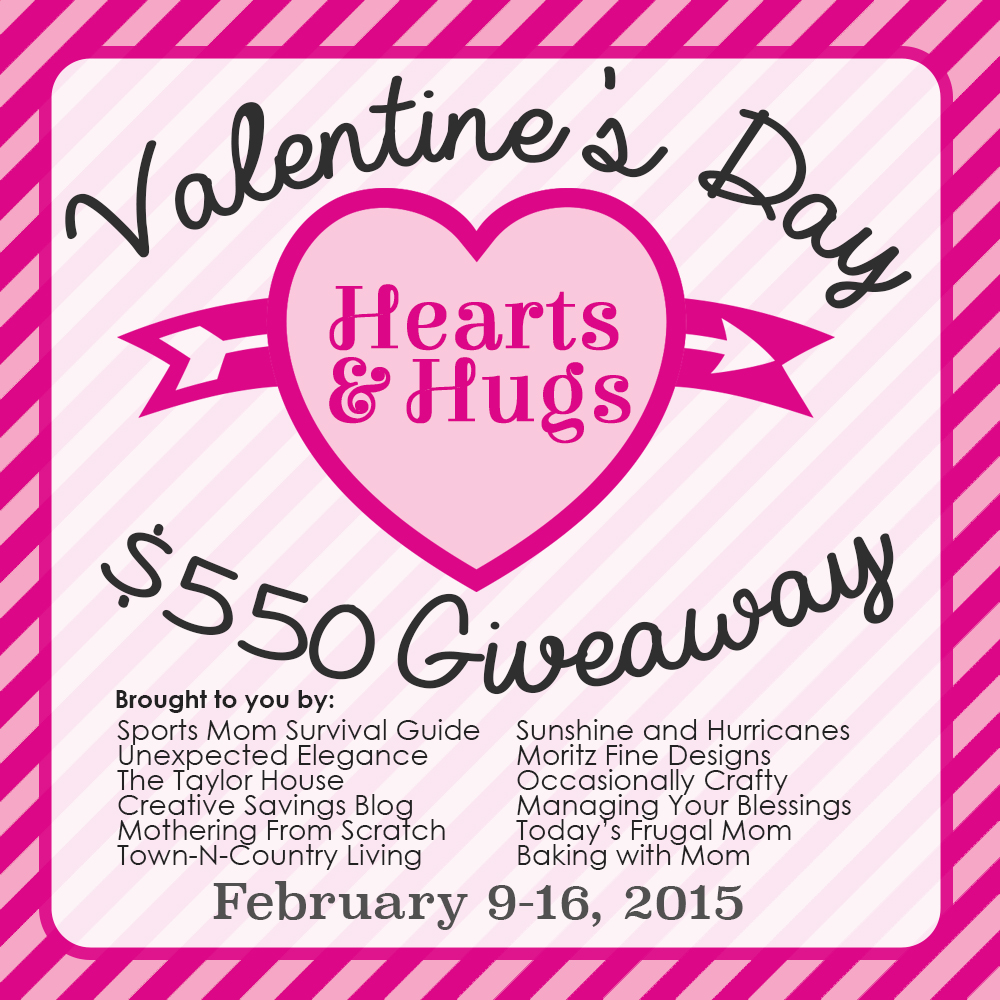 Check out our $550 Valentine's Day Giveaway!