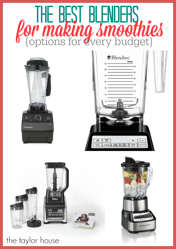 Some of the Best Blender's For Making Smoothies!