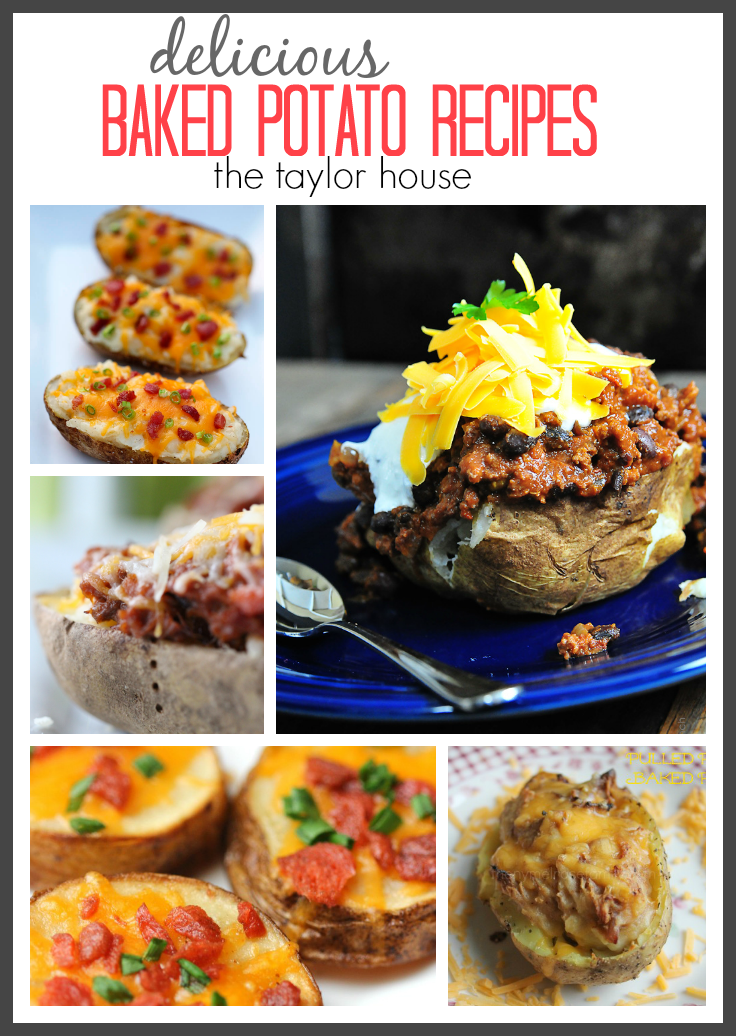 Amazingly Delicious and Easy to make Baked Potato Recipe Ideas!