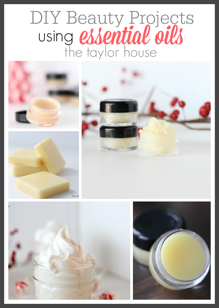 DIY Beauty Essential Oils projects that use very few ingredients!