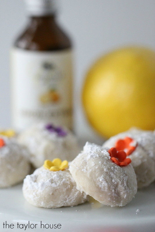 Deliciously Soft and Buttery Lemon Russian Tea Cakes!
