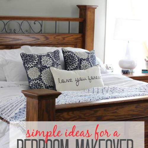 Simple Ideas for a Bedroom Makeover