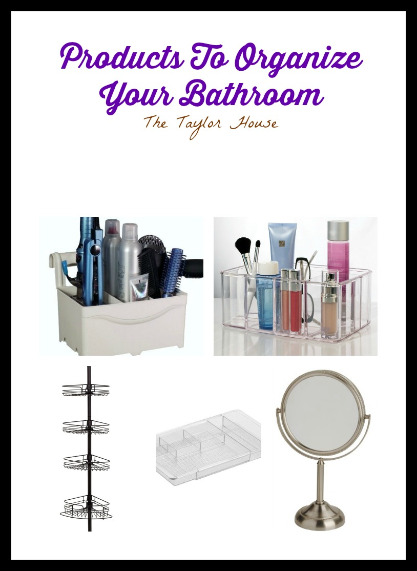 Clever products you need to organize your bathroom!