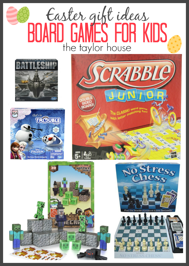Board Game Ideas to Make Easter Gift Ideas Board Games