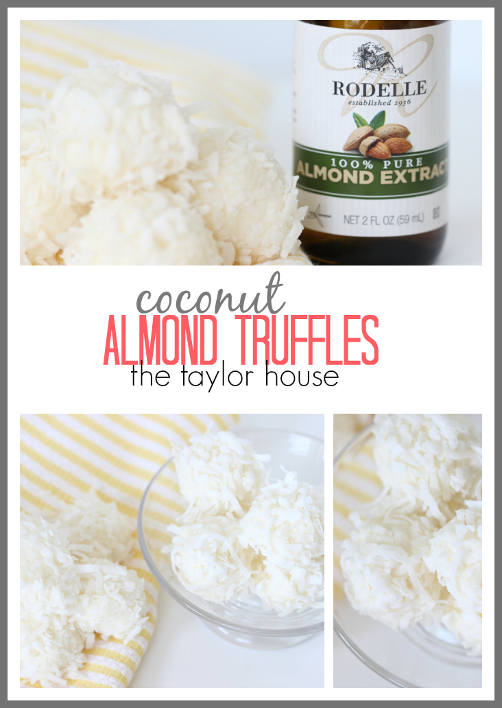 Homemade Coconut Almond Truffles recipe!