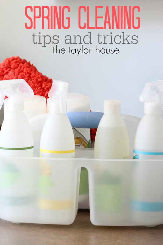 Spring Cleaning Tips And Tricks The Taylor House