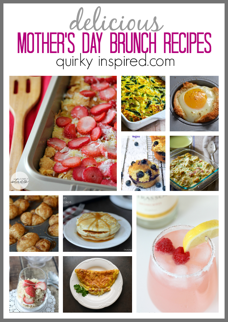 Looking for some great Mother's Day brunch ideas? Tons of amazing recipes to make Mother's day even more special