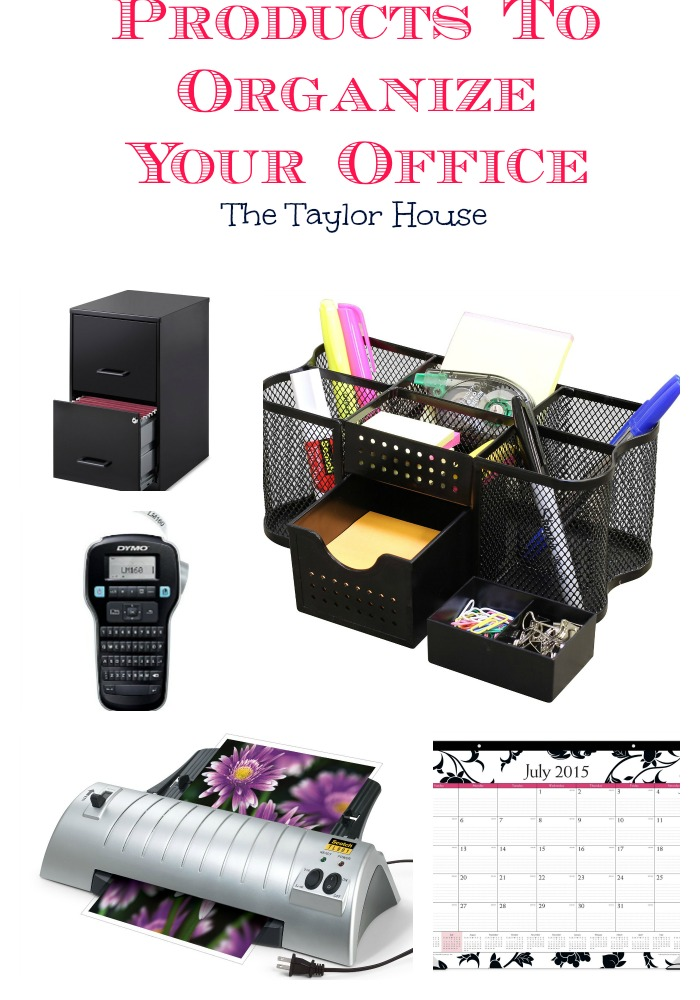 Great products to organize your office!