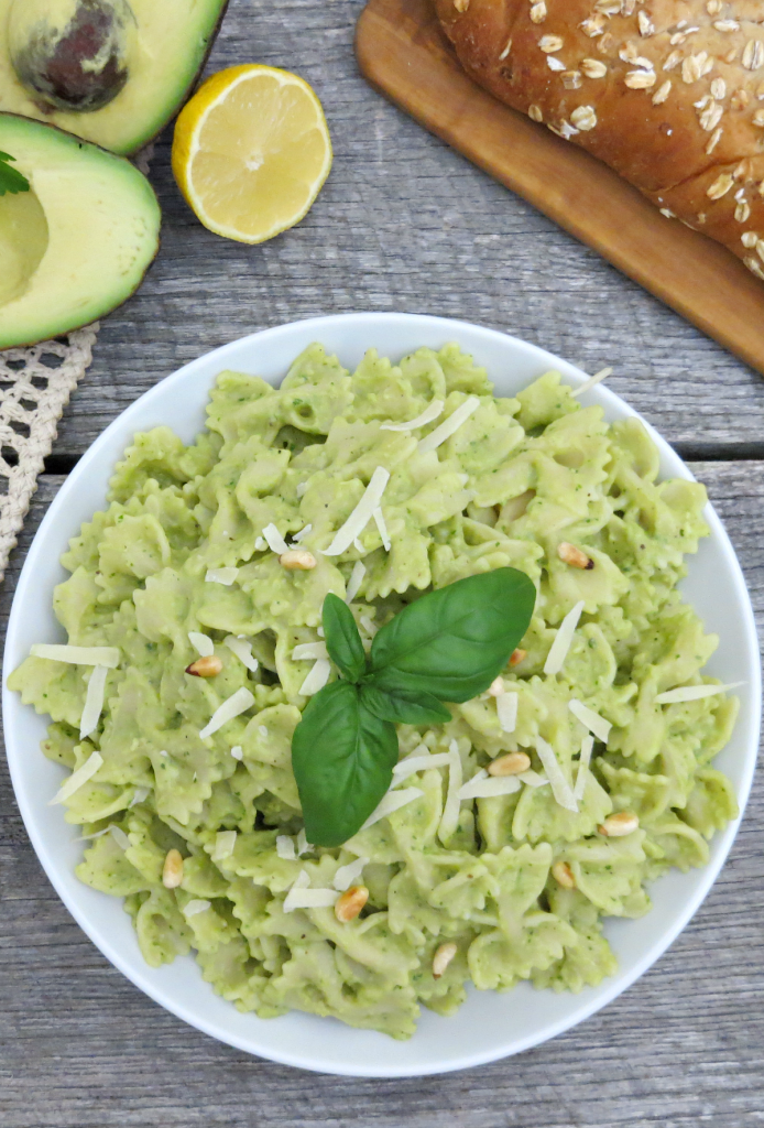 Creamy Avocado Pasta Sauce Recipe - The Taylor House