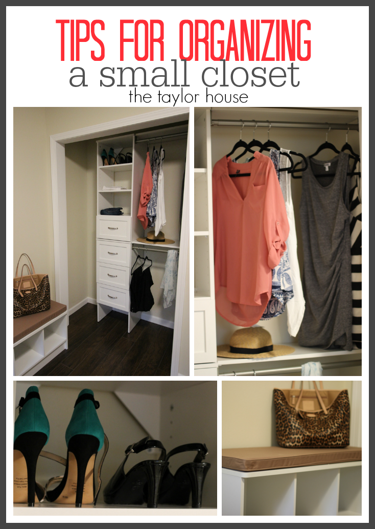 How to organize a small closet. How to Organize a Small Closet   The Taylor House