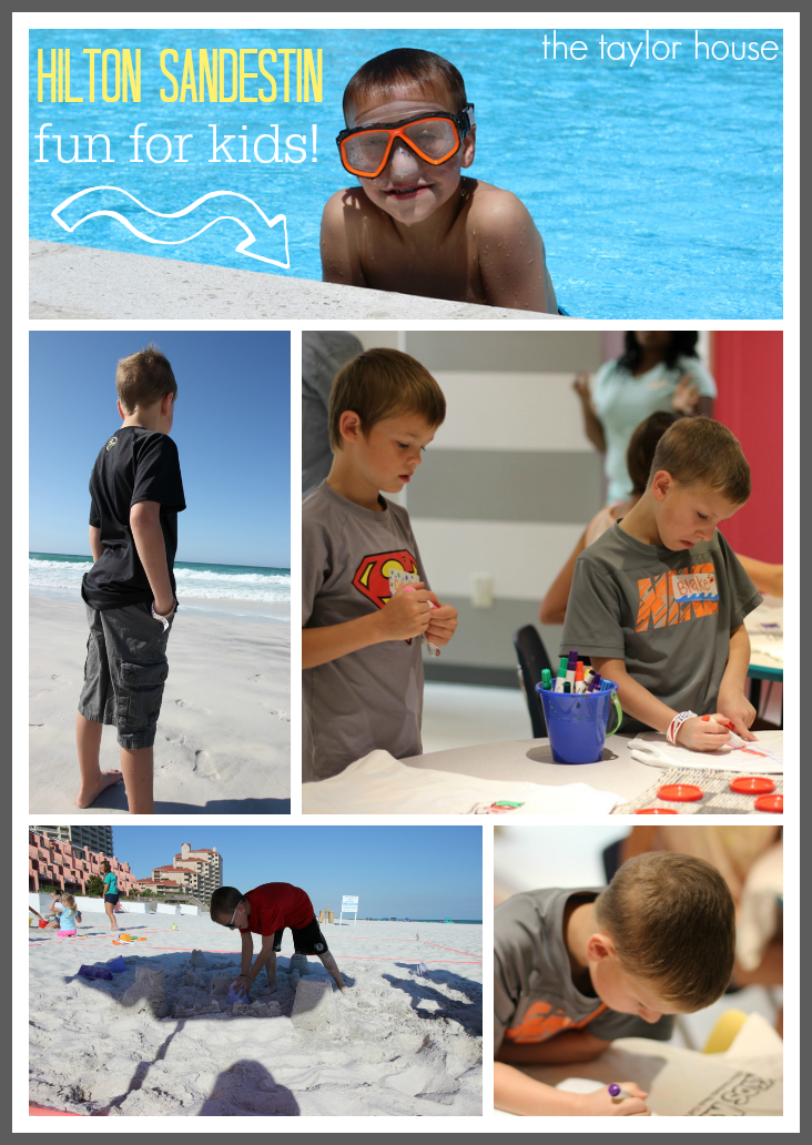 Five things to do at Hilton Sandestin beach resort!