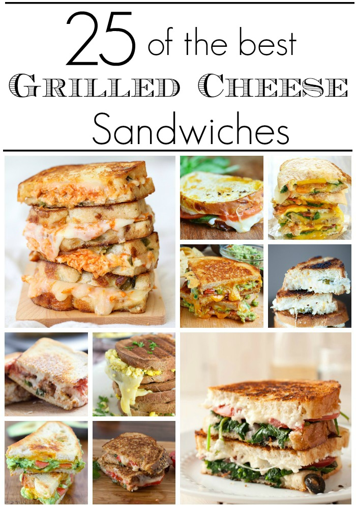 Amazingly Delicious Grilled Cheese Sandwiches that your family will love!