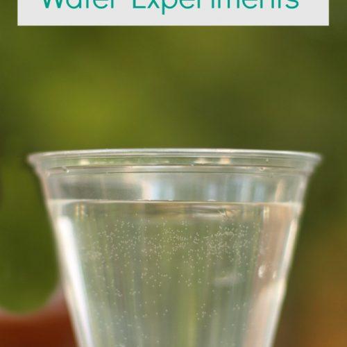 Summer Enrichment: Water Experiments