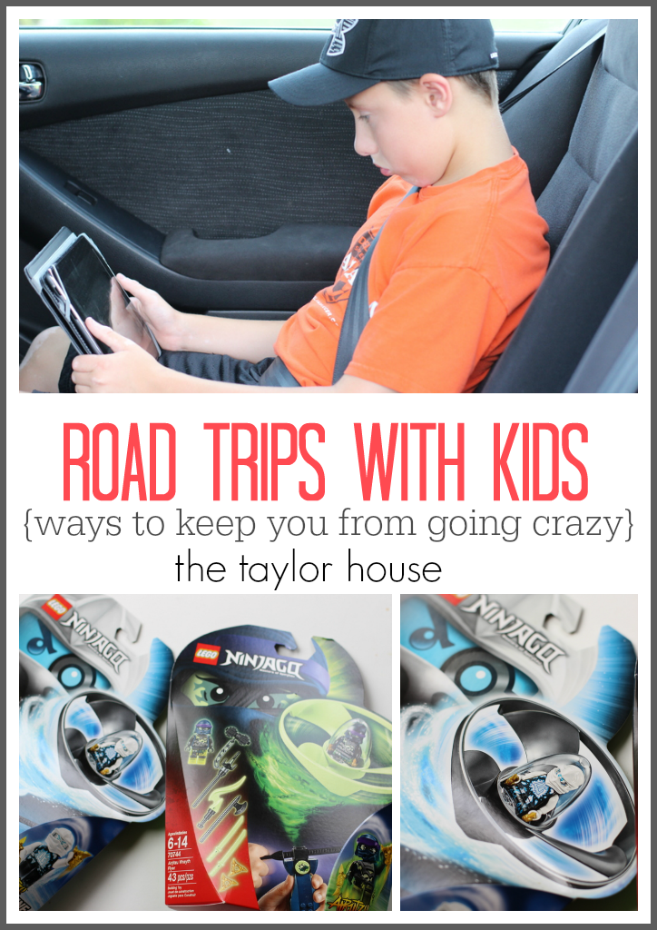 Road Trip with Kids - fun ideas and tricks to keep them busy!