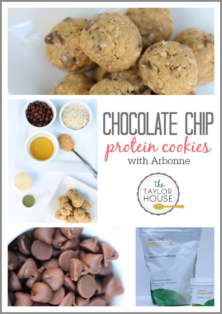 Delicious and easy to make Chocolate Chip Protein Cookies