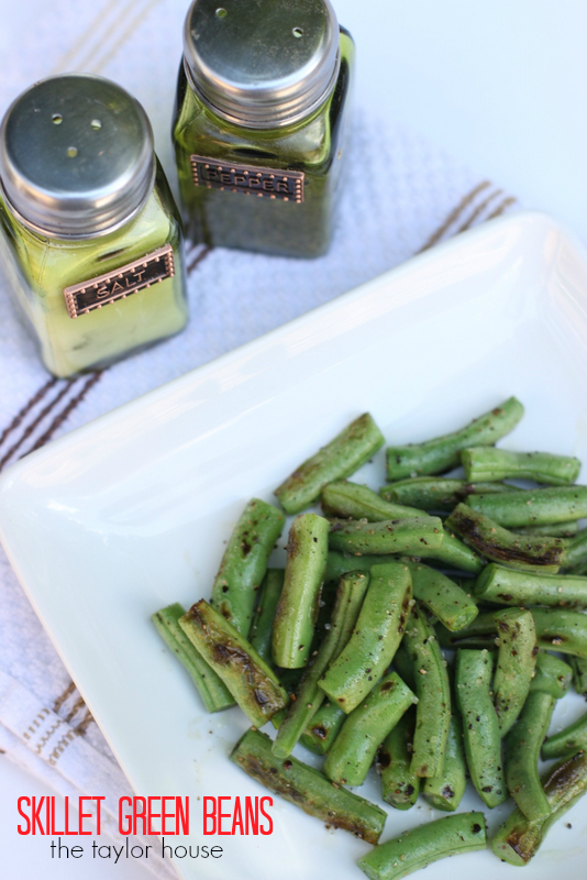 Skillet Green Beans and our Nutrisystem Update!