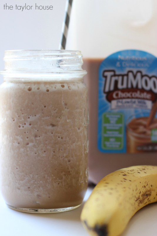 Delicious and Easy to make Chocolate Milk Smoothie!