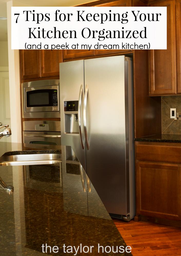 kitchen organization dream kitchen