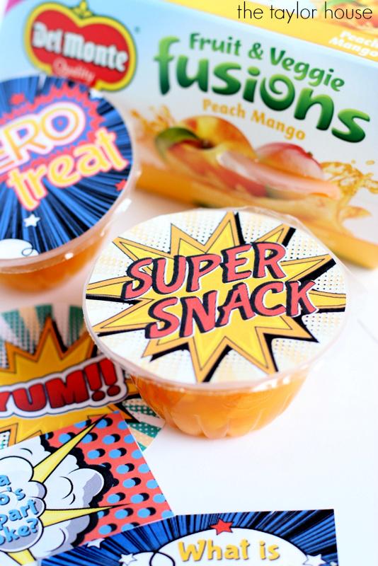 Back to School: Super Snacks