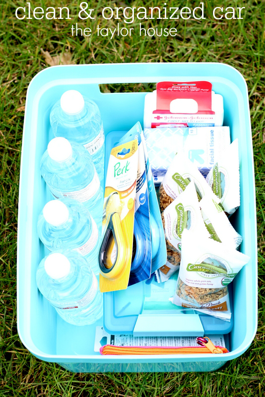 Keep your Car clean and organized