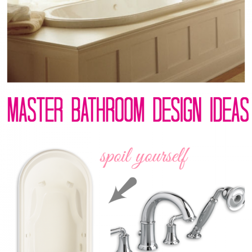Planning a New Home: Master Bathroom