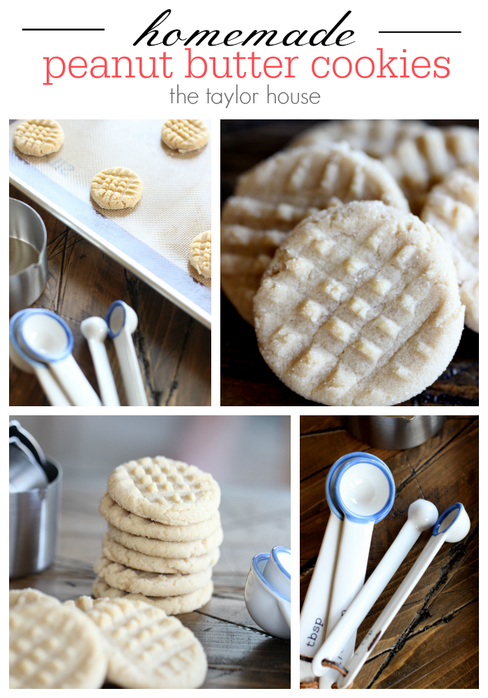 Homemade Soft Peanut Butter Cookies