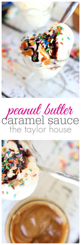 Peanut Butter Caramel Sauce Recipe