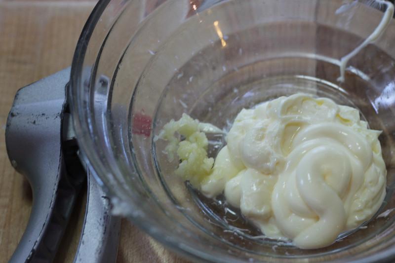 garlic aioli dip