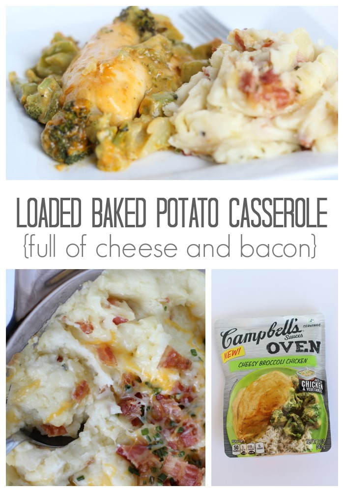 Creamy and delicious Twice Baked Potato Casserole