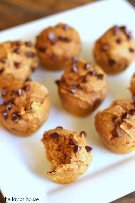 Delicious and easy to make THREE ingredient Pumpkin Muffins!