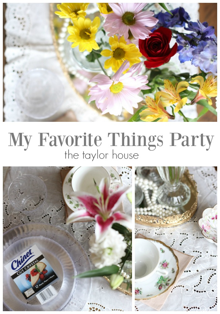 My Favorite Things Party!