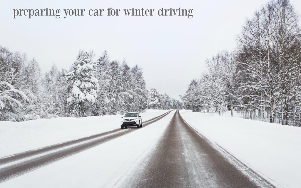 Preparing Your Car for Winter (PERK)