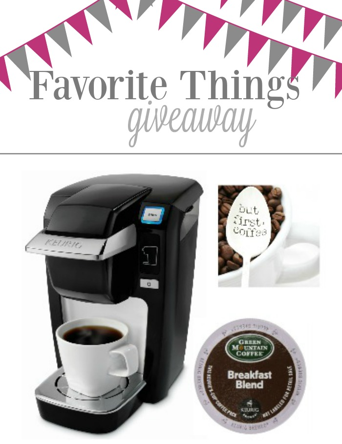 Check out my favorite things giveaway and all the amazing gifts you can win!